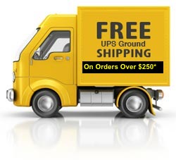 Free Ground Shipping on Orders Over $200